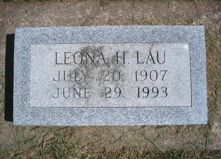 LAU, LEONA H - Hancock County, Iowa | LEONA H LAU