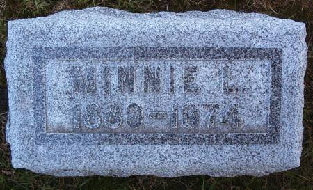LAU, MINNIE L - Hancock County, Iowa | MINNIE L LAU