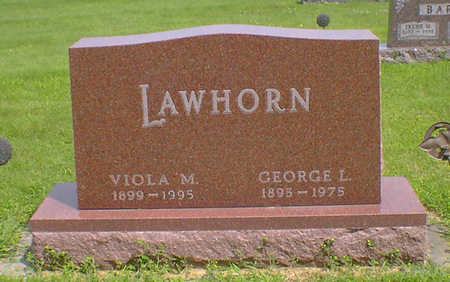 LAWHORN, VIOLA M - Hancock County, Iowa | VIOLA M LAWHORN