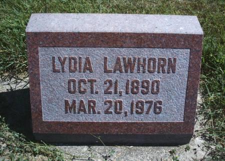 FREIE LAWHORN, LYDIA - Hancock County, Iowa   LYDIA FREIE LAWHORN