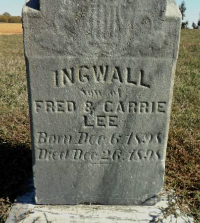 LEE, INGWALL - Hancock County, Iowa | INGWALL LEE