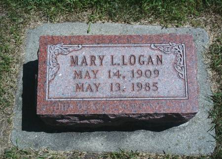 EICHER LOGAN, MARY L - Hancock County, Iowa | MARY L EICHER LOGAN