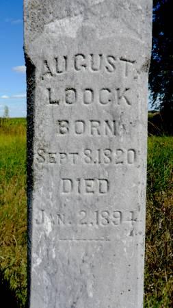 LOOCK, AUGUST - Hancock County, Iowa   AUGUST LOOCK