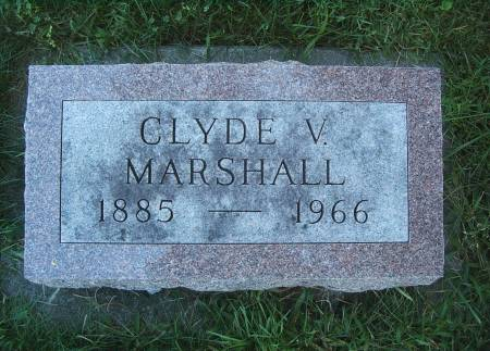 MARSHALL, CLYDE V - Hancock County, Iowa | CLYDE V MARSHALL