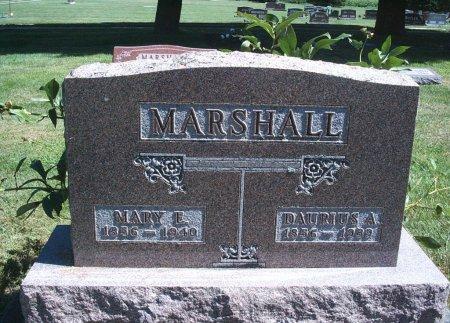 MARSHALL, MARY E - Hancock County, Iowa | MARY E MARSHALL