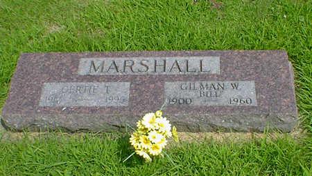 MARSHALL, GERTIE T - Hancock County, Iowa | GERTIE T MARSHALL