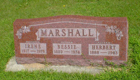MARSHALL, IRENE - Hancock County, Iowa | IRENE MARSHALL