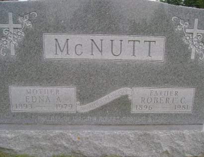 MCNUTT, EDNA A - Hancock County, Iowa | EDNA A MCNUTT