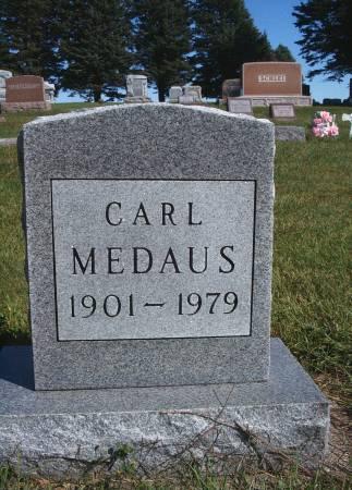 MEDAUS, CARL - Hancock County, Iowa | CARL MEDAUS