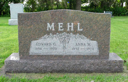 MEHL, EDWARD GUNNARSEN - Hancock County, Iowa | EDWARD GUNNARSEN MEHL