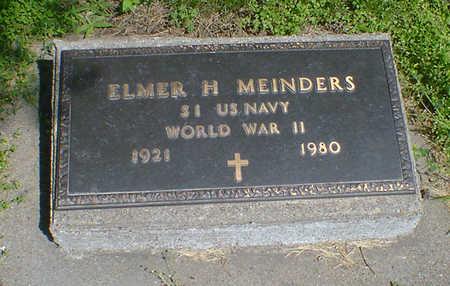 MEINDERS, ELMER H - Hancock County, Iowa | ELMER H MEINDERS