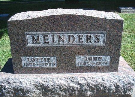 MEINDERS, LOTTIE - Hancock County, Iowa | LOTTIE MEINDERS