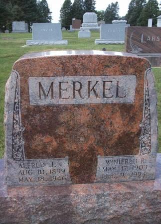 MERKEL, ALFRED J - Hancock County, Iowa   ALFRED J MERKEL