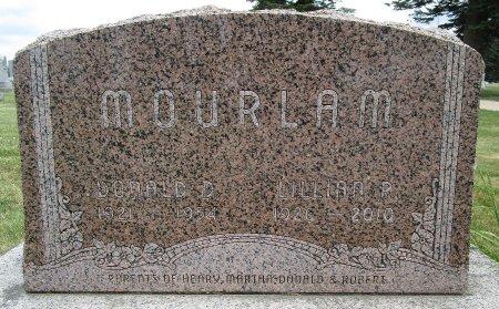 MOURLAM, DONALD D - Hancock County, Iowa   DONALD D MOURLAM