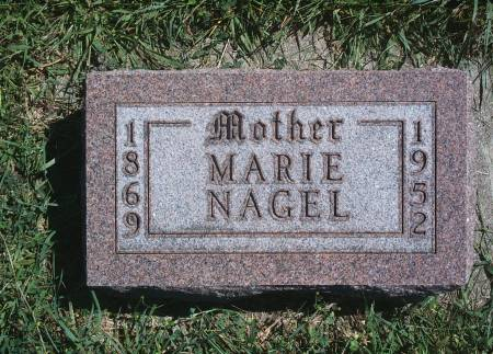 NAGEL, MARIE - Hancock County, Iowa | MARIE NAGEL