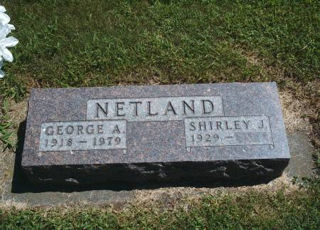 NETLAND, GEORGE - Hancock County, Iowa | GEORGE NETLAND
