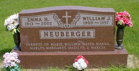 NEUBERGER, WILLIAM J - Hancock County, Iowa   WILLIAM J NEUBERGER