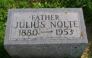 NOLTE, JULIUS - Hancock County, Iowa | JULIUS NOLTE