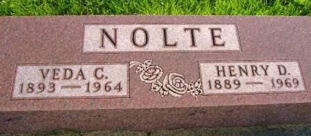 NOLTE, VEDA C - Hancock County, Iowa | VEDA C NOLTE
