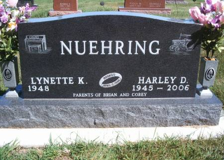 NUEHRING, HARLEY D - Hancock County, Iowa | HARLEY D NUEHRING