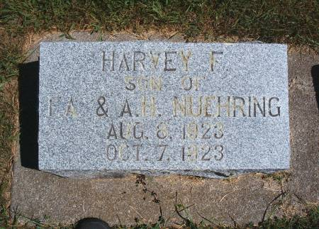 NUEHRING, HARVEY F - Hancock County, Iowa | HARVEY F NUEHRING