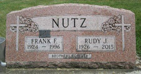 NUTZ, FRANK F - Hancock County, Iowa   FRANK F NUTZ