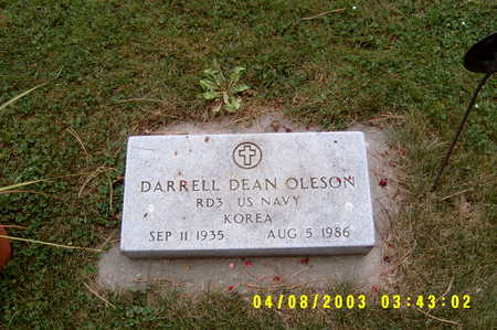 OLESON, DARRELL D - Hancock County, Iowa | DARRELL D OLESON