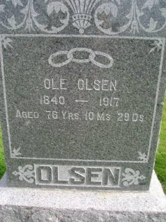 OLSEN, OLE - Hancock County, Iowa   OLE OLSEN