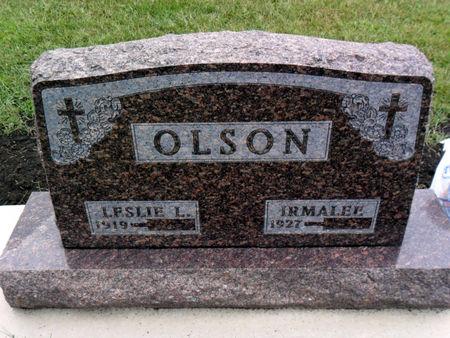 OLSON, LESLIE L - Hancock County, Iowa | LESLIE L OLSON
