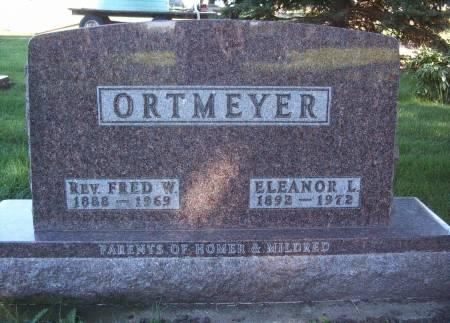 ORTMEYER, FRED W - Hancock County, Iowa | FRED W ORTMEYER