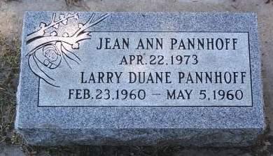 PANNHOFF, LARRY D - Hancock County, Iowa   LARRY D PANNHOFF