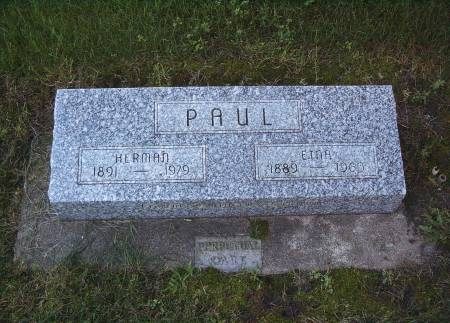 PAUL, HERMAN - Hancock County, Iowa | HERMAN PAUL