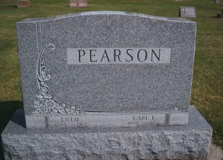 BATES PEARSON, LILLIE - Hancock County, Iowa | LILLIE BATES PEARSON