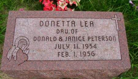 PETERSON, DONETTA L - Hancock County, Iowa | DONETTA L PETERSON