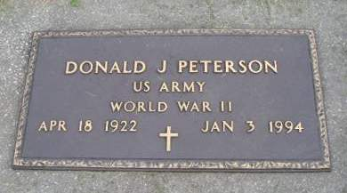PETERSON, DONALD J - Hancock County, Iowa | DONALD J PETERSON