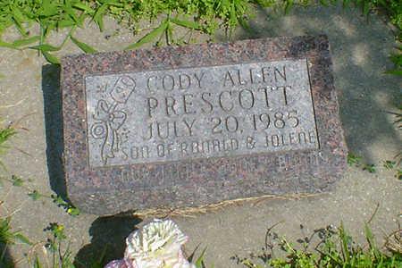 PRESCOTT, CODY ALLEN - Hancock County, Iowa | CODY ALLEN PRESCOTT