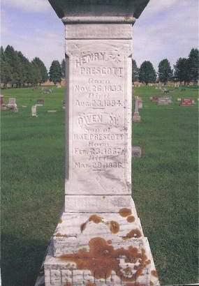 PRESCOTT, OWEN M - Hancock County, Iowa | OWEN M PRESCOTT