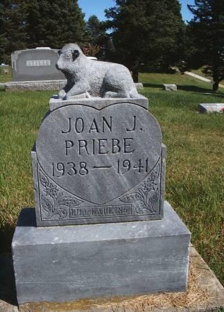 PRIEBE, JOAN J - Hancock County, Iowa | JOAN J PRIEBE