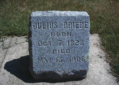 PRIEBE, JULIUS - Hancock County, Iowa   JULIUS PRIEBE