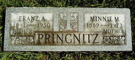 PRINGNITZ, MINNIE M - Hancock County, Iowa | MINNIE M PRINGNITZ