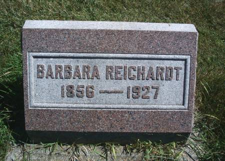 REICHARDT, BARBARA - Hancock County, Iowa | BARBARA REICHARDT