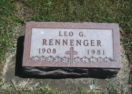 RENNENGER, LEO G - Hancock County, Iowa | LEO G RENNENGER