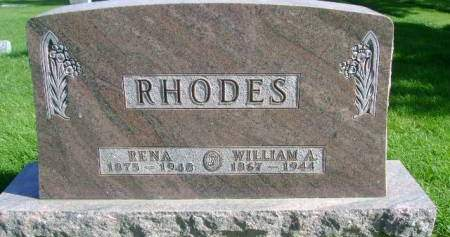 RHODES, WILLIAM A - Hancock County, Iowa | WILLIAM A RHODES