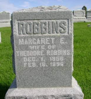 ROBBINS, MARGARET  E - Hancock County, Iowa | MARGARET  E ROBBINS