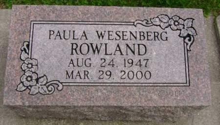 ROWLAND, PAULA - Hancock County, Iowa | PAULA ROWLAND