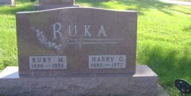 RUKA, RUBY M - Hancock County, Iowa | RUBY M RUKA