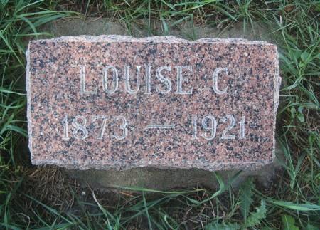 BRANDT RUNGE, LOUISE C - Hancock County, Iowa | LOUISE C BRANDT RUNGE