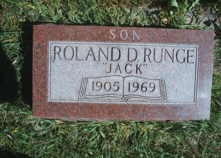 RUNGE, ROLAND D