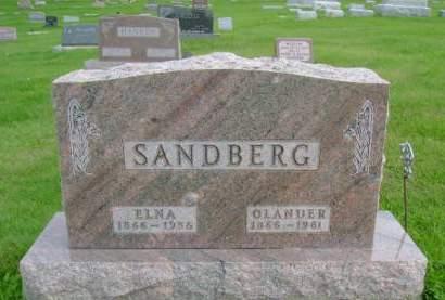SANDBERG, OLANDER - Hancock County, Iowa | OLANDER SANDBERG