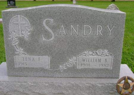 SANDRY, WILLIAM B - Hancock County, Iowa | WILLIAM B SANDRY